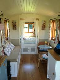 Small Camper Ideas Really Like The Location Of Bed Gypsy Caravan And Decorating