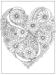 A Sample Coloring Page From The Adult Book Inkspirations Color Your Way Content