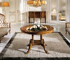 runder tisch in klassischen luxus stil für esszimmer