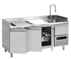 Fish Cleaning Station With Sink by Furniture Captivating Stainless Steel Prep Table For Kitchen