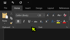 Image Of The New Black Theme In Microsoft Word Yes Thats One Mouse Cursors About To Be Released At 22pointau