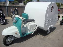 Scooter Caravan Up For Sale