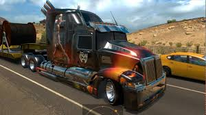 Heavy Truck: Optimus Prime, Western Star 5700-ATS 1.5.3s Mod For ...