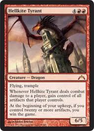 magic the gathering utvara hellkite 110 return to ravnica