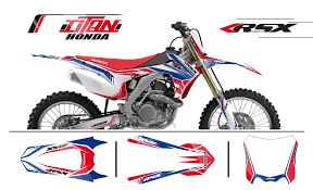kit deco crf 250 graphic honda crf 250