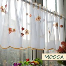 Buy orange kitchen curtains and free shipping on AliExpress