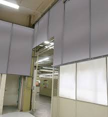Noise Dampening Curtains Industrial by Acoustic Curtains Sound Barrier Curtains U0026 Dividers