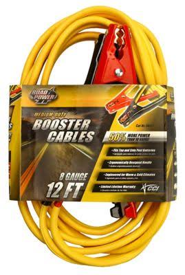 Coleman Cable Medium-duty Booster Cables - 12'