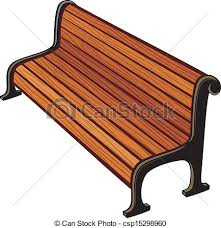 Park bench clip art vector Search Drawings and Graphics