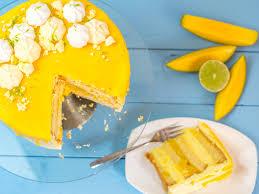 Hochzeitstorte Mit Erdbeeren Und Limetten Limetten Mango Torte Mit Vanille