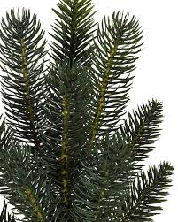 Silver Tip Christmas Tree Artificial by Aspen Estate Fir Flip Tree Balsam Hill