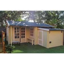 100 Log Cabin Extensions LOG CABIN Storage Extension 28mm S Breathe Azores