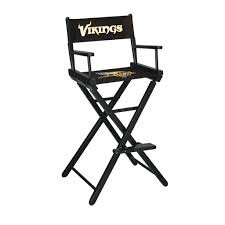 The Minnesota Vikings Imperial Bar Height Directors Chair | Movie ... Outdoor Fniture Archives Pnic Time Family Of Brands Amazoncom Plao Chair Pads Football Background Soft Seat Cushions Sports Ball Design Tent Baseball Soccer Golf Kids Rocking Brown With Football Luna Intertional Doubleduty Stadium And Podchair Under The Weather Nfl Team Logo Houston Texans Tailgate Camping Folding Quad Fridani Fsb 108 Xxl Padded Sturdy Drinks Holder Sportspod Chairs China Seating Buy Beiens Double Goals Portable Toy Set For Sale Online Brands