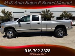 100 Dodge Dually Trucks For Sale 2004 Ram 3500 59 Cummins Diesel 4x4 6 SPEED MANUAL