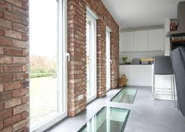 küchenrückwand steinoptik aus steinverblendern riemchenwerk