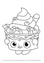 Print Shopkins Official 2016 Coloring Pages See More How To Draw Yo Chi From