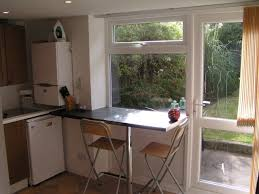 Witching Kitchen Breakfast Bar Window Features Glass Fixed Window ... Awning Ideas Decorations Impressive Exterior Diy Wood Window Windows Gable Verdant Passages Front Door Hang On Pinterest A Side View Of