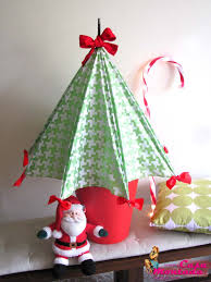 Casa Montada DIY Umbrella Christmas Tree
