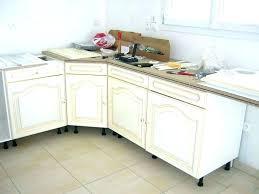 meubles de cuisine lapeyre meuble cuisine angle bas affordable meuble angle bas cuisine le