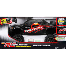 100 Rc Ford Truck New Bright RC 16 Scale Raptor Black EBay