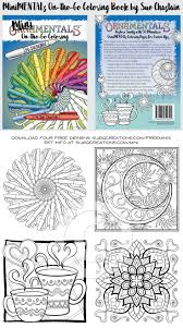 Get Samples From MiniMENTALs On The Go Coloring Book By Sue Chastain And Enter