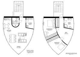 Modern Style House Plan 2 Beds 2 00 Baths 1200 Sq Ft Plan 538 3