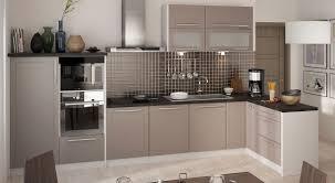 l form küchenzeile kvantum einbauküche 330x150cm grau front beige matt