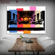 100 Pop Art Home Decor DPARTISAN Study DETAIL OF THE LAST SUPPER C1986 Pop Art Print Wall Painting Picture No Frame Pictures