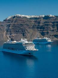 Cruise Ship Sinking Santorini construction begins on another new viking ocean ship
