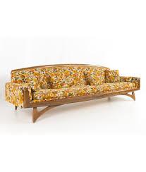 Kroehler Adrian Pearsall Style Mid Century Modern Gondola Sofa