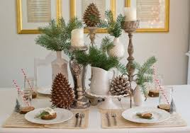 Christmas Table Decoration Ideas Rustic Christmas Table Decorations