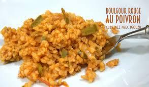 comment cuisiner du boulgour boulgour au poivron vert recettes faciles recettes