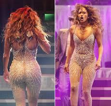 Jennifer Lopez s Wardrobe Malfunction — Flashes SPANX – Hollywood Life