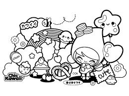 Kawaii Drawing With Cute Characters