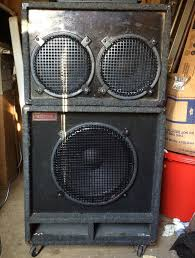 2x10 Bass Cabinet Plans by For Sale Eminence Loaded 1x15