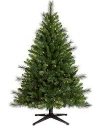 45ft Prelit Artificial Christmas Tree Douglas Fir Clear Lights