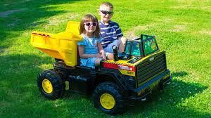 Tonka Dump Truck Power Wheels As Well Gmc Together With Loads Also ... Amazoncom Kids 12v Battery Operated Ride On Jeep Truck With Big Rbp Rolling Power Wheels Wheels Sidewalk Race Youtube Best Rideontoys Loads Of Fun Riding Along In Their Very Own Cars Kid Trax Red Fire Engine Electric Rideon Toys Games Tonka Dump As Well Gmc Together With Also Grave Digger Wheels Monster Action 12 Volt Nickelodeon Blaze And The Machine Toy Modded The Chicago Garage We Review Ford F150 Trucker Gift Rubicon Kmart Exclusive Shop Your Way Kawasaki Kfx 12volt Battypowered Green