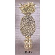 Square Crystal Lamp Finials by Solid Brass Pineapple Lamp Finial Finials Accessories