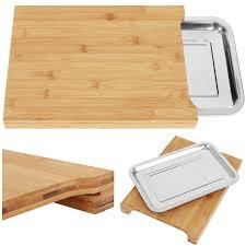 schneidebrett mit auffangschale tomorrow s kitchen idee