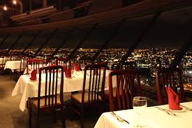 Skylon Tower Revolving Dining Room by Top Of Vancouver Revolving Restaurant