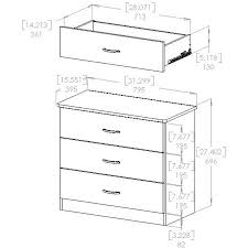 South Shore Libra Dresser Instructions by South Shore Smart Basics 3 Drawer Chest Multiple Finishes Ebay