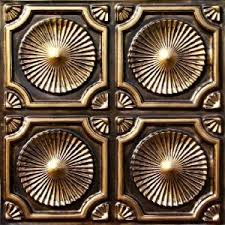 buy faux tin ceiling tiles glue up 2x2 discount faux tin