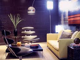 room decorating with contemporary arc floor ls