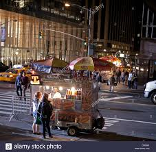 100 How To Start A Food Truck In Nyc Food Truck Is Open Late At Night In New York City Stock Photo