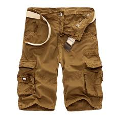 sell mens relaxed beach short camouflage work cargo pants camo