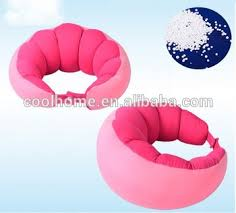 Filled With Polystyrene Beads Bean Bag Neck Pillow