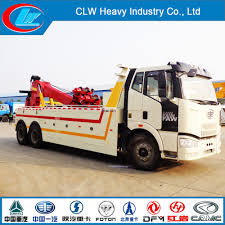 China ISO Quality Faw 6X4 Wrecker Tow Truck For Sale - China Wrecker ...