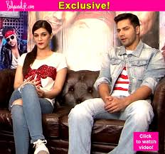 Dilwale s Varun Dhawan and Kriti Sanon reveal what happened when
