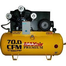 Maxair Premium Industrial 120 Gal 15 HP Electric 230 Volt Single