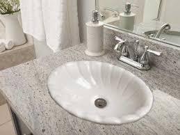 self rimming drop in bathroom sinks by barclay